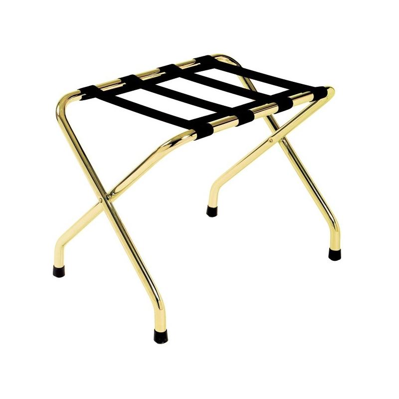 porte valises m tal chrom dor. Black Bedroom Furniture Sets. Home Design Ideas