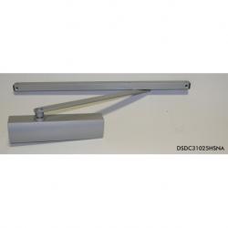 Ferme-porte bras à glissière gris DC150HB - kams.fr