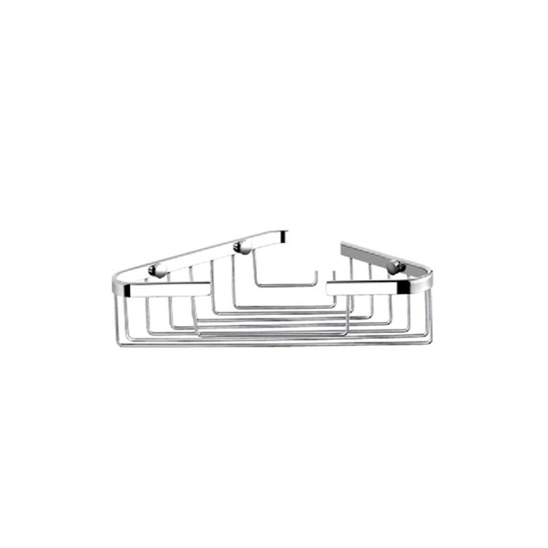 Porte savon d 39 angle en laiton chrom for Porte savon d angle