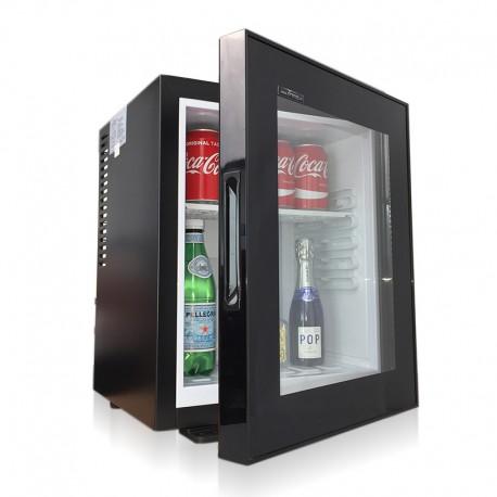 Minibar 35L Porte Vitrée Silencieux-minibar,mini bar,mini frigo,minibar silencieux,minirefrigerateur,mini refrigerateur chez Kam