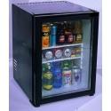 Minibar à porte vitrée